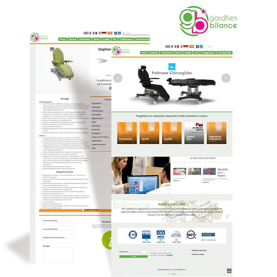Gardhen Bilance - NEW Website presentation
