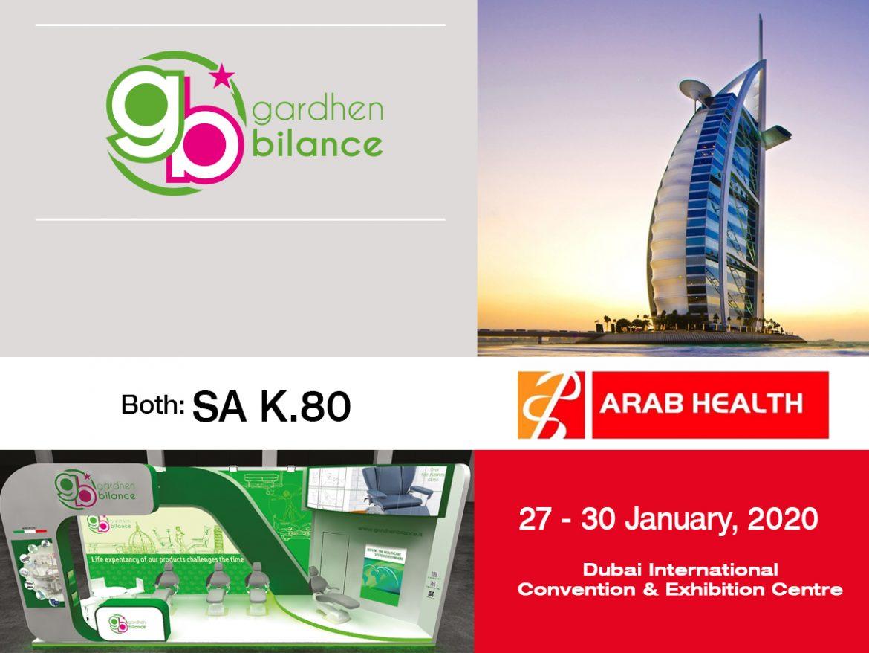 Gardhen Bilance - ARAB HEALTH 2020