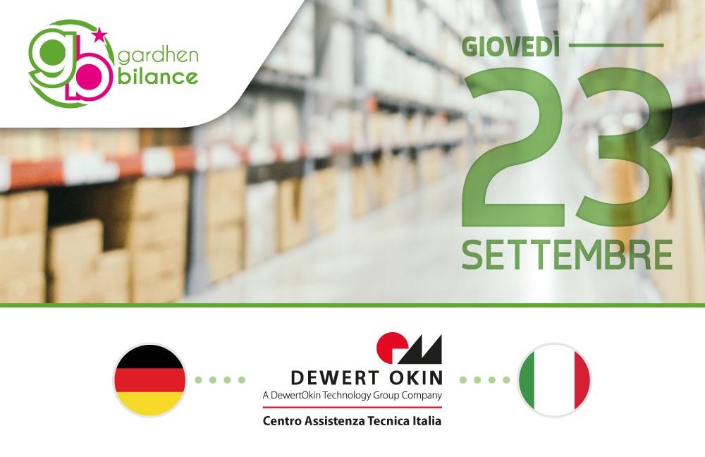 Gardhen Bilance - Inaugurazione del Nuovo Laboratorio e Centro Assistenza e Ricambi Dewert Okin unico in Italia